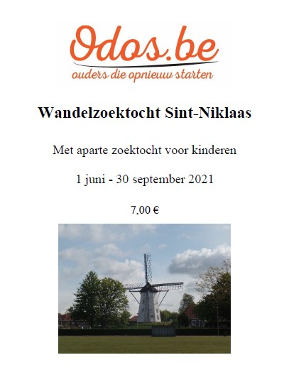 Wandelzoektocht Sint-Niklaas